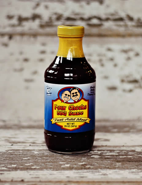 Four Cheeks Regular BBQ Sauce